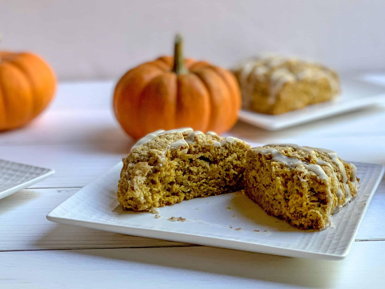 hey pumpkin scones