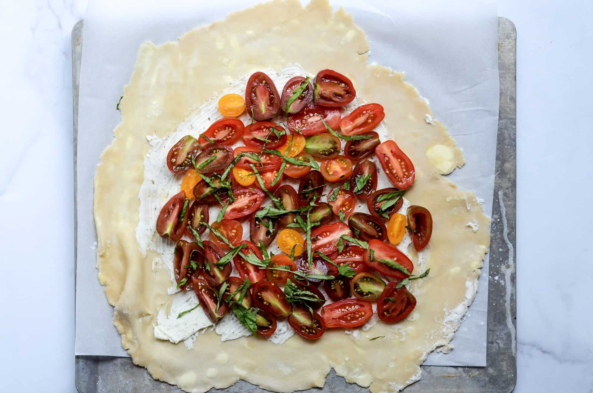 building your galette