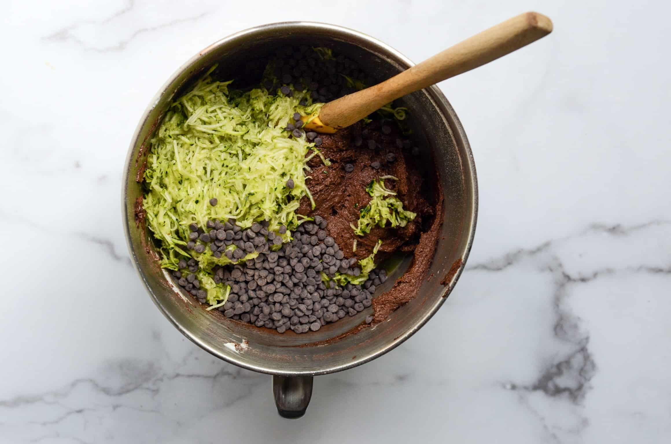 mixing bowl with ingredients